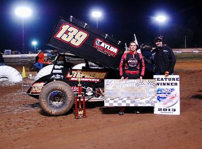 #139 Brad Bowden 306 Sprint Feature Winner