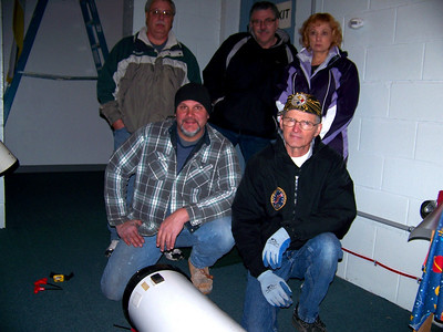"Some of the Members of the ""dismantling crew""."