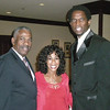 "ESP President Everett Glenn, Cheryl ""C Money"" Green, and former Laker great A.C. Green"