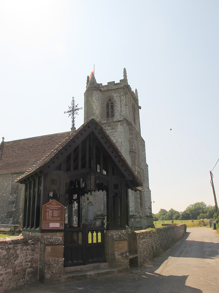 Stourpaine parish church.
