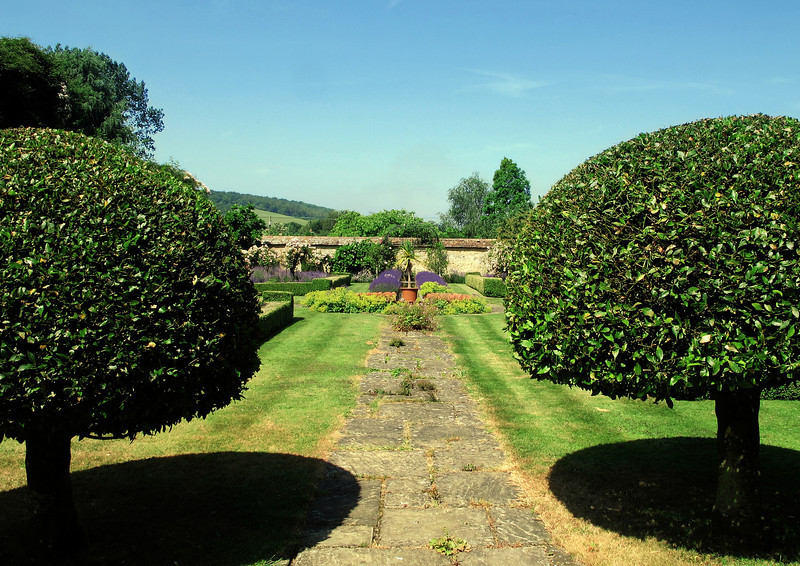 A well tended garden in Stourpaine.