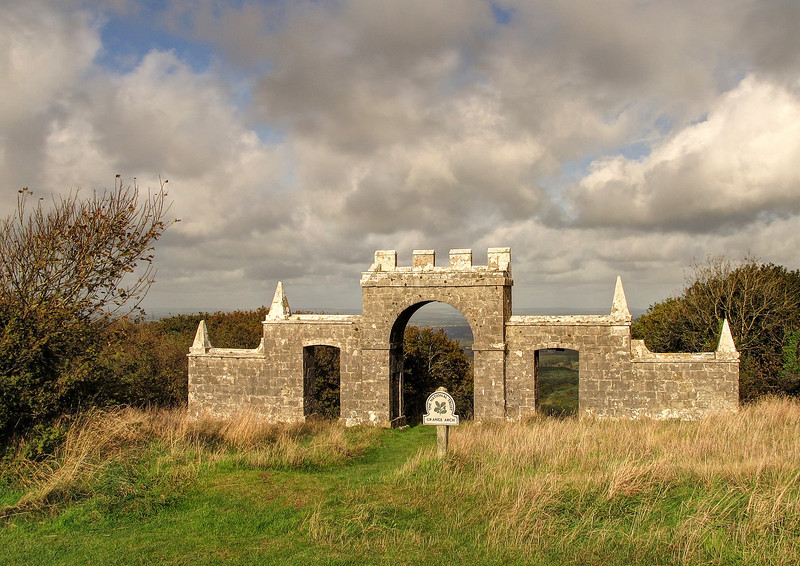 Grange Arch on the ridgeway path.