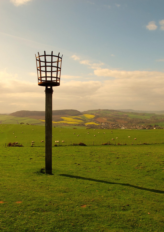 The Beacon - used when a chain of them along the South Coast was lit to commemorate the Diamond Jubilee of HM The Queen.