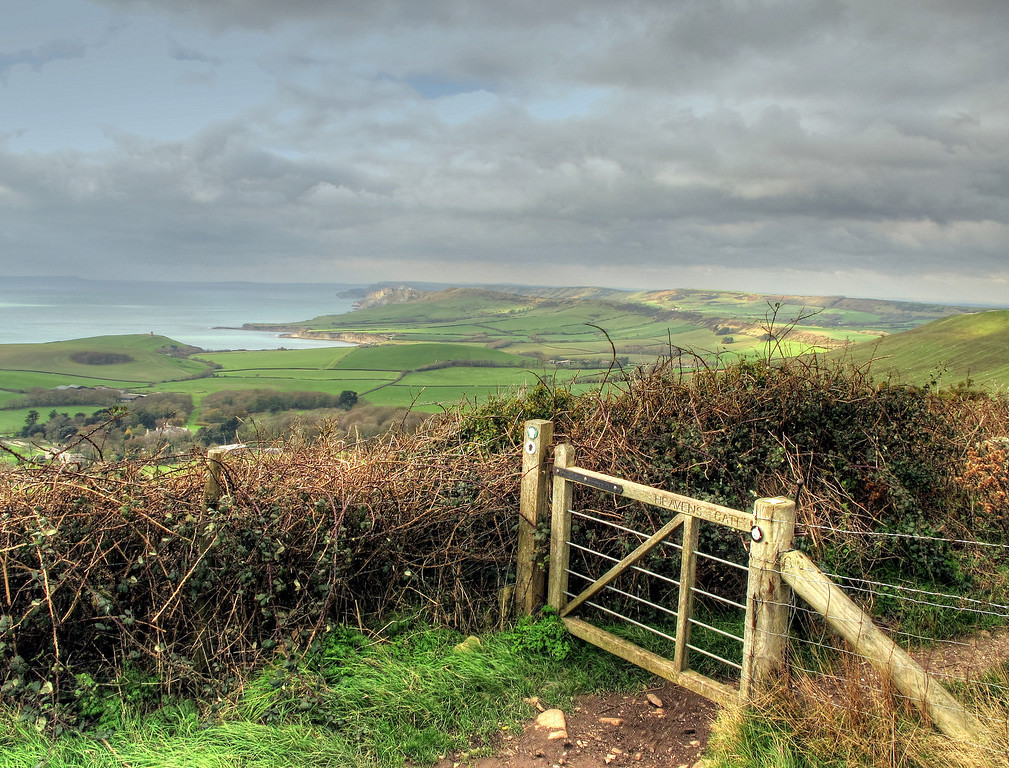 The view from 'Heaven's Gate' near Swyre Head.