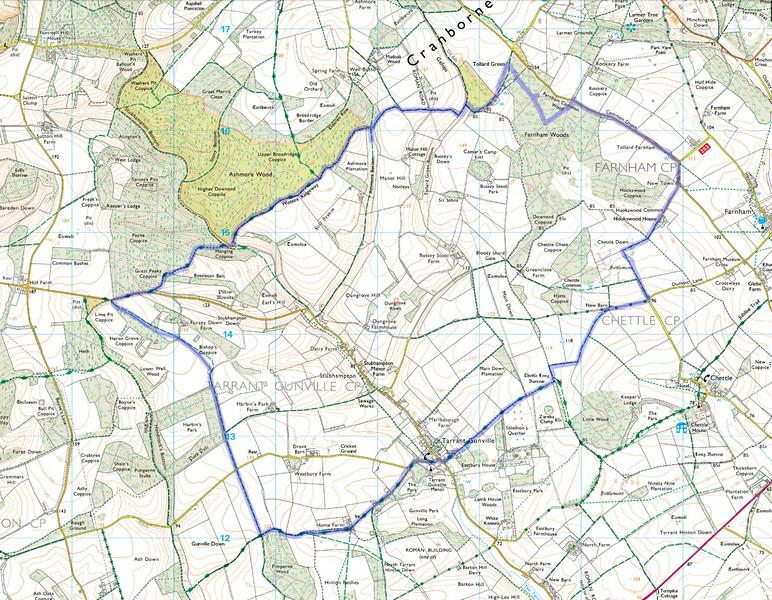 The route actually taken.