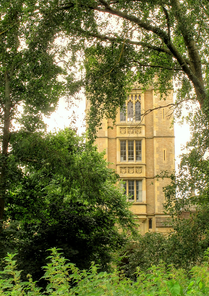 The tower at Canford School.
