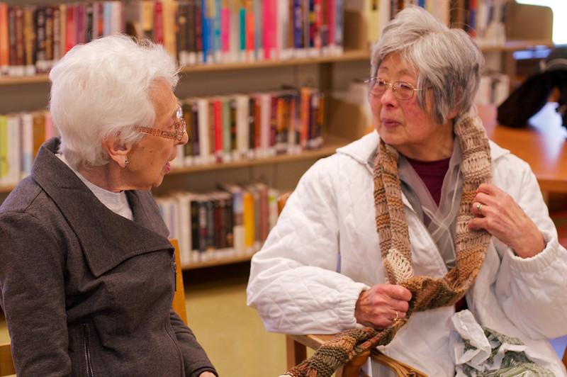Knitting Group - ©David Shapiro 2011