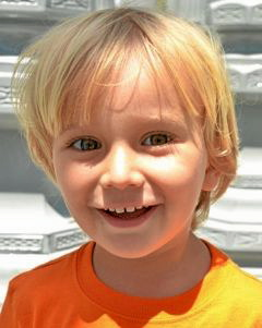 . Sasha Hummel, 4, is one of two boys allegedly abducted by their mother, Maria Pfeifer, after they failed to return from a 2012 summer trip to Central Europe in violation of custody orders.