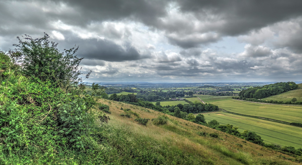 The view from Fontmell Down
