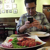 At Ayada Thai restaurant in Elmhurst--Northern Thai Sausage