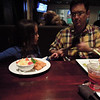 At Yardhouse prior to watching Rise of the Guardians