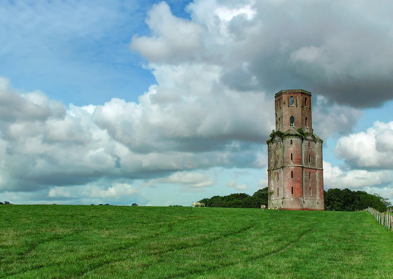 Horton Tower with sheep, No2!