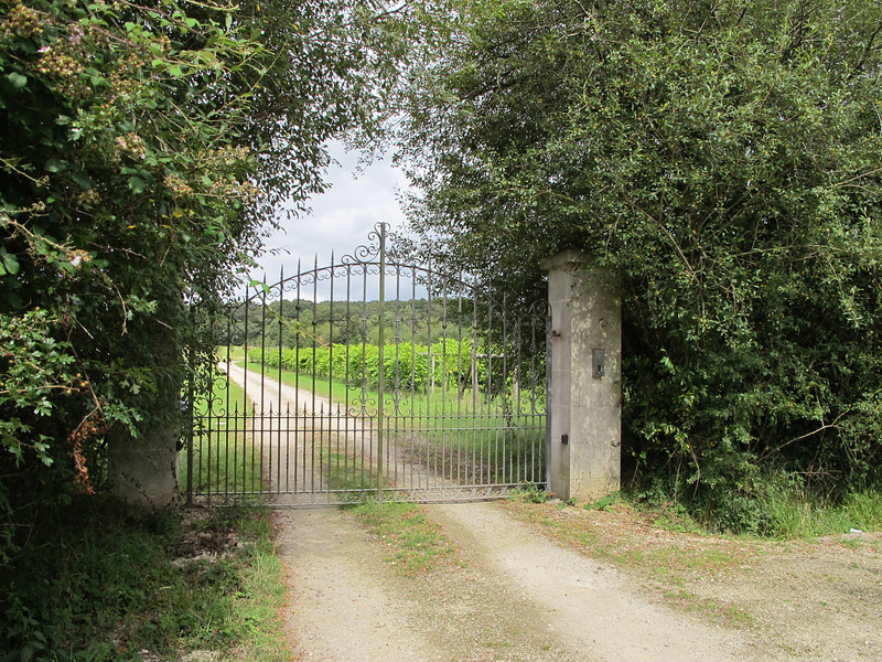 The entrance to Horton Winery