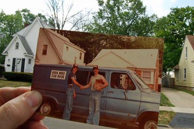 6835 Bova Brothers in Pontiac Then and now
