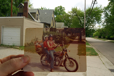 6830 Grandpa in Pontiac Then and Now