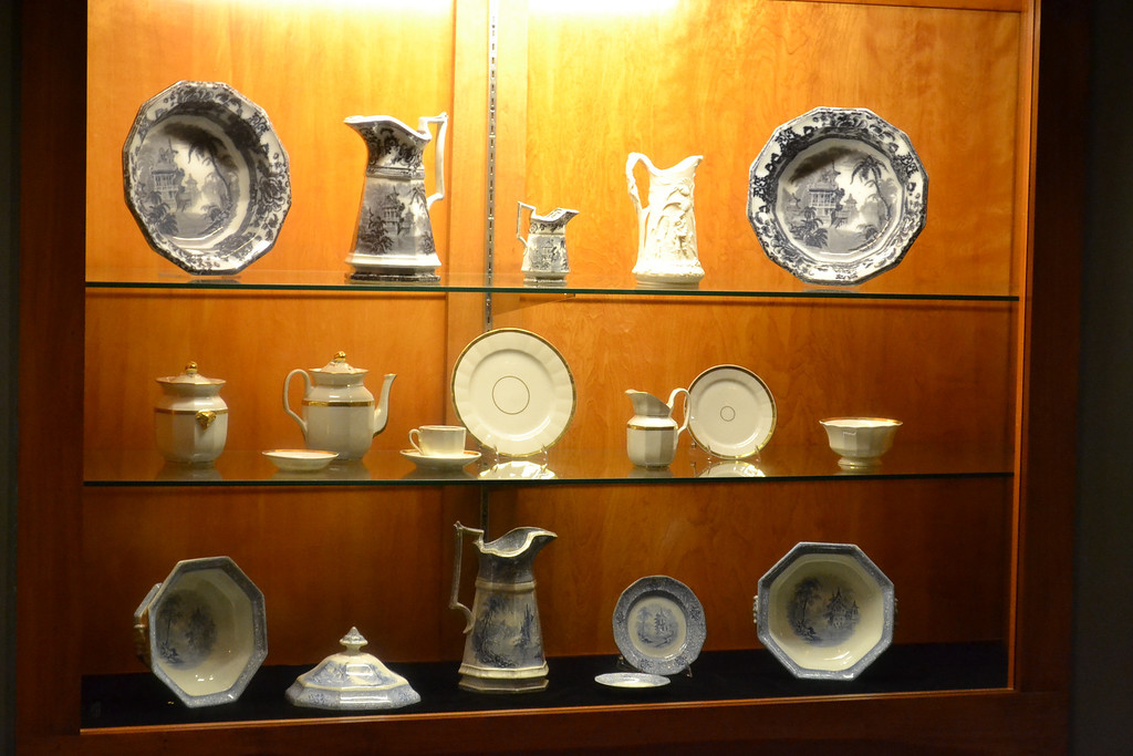 Some of the tableware aboard the Arabia...