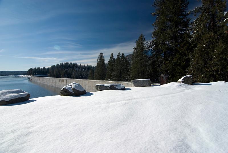 Shaver Lake Near the Dam