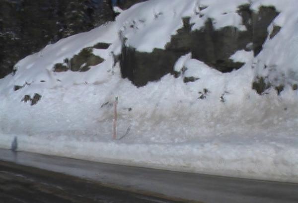 Just before Tamarack Ridge on 168W video.