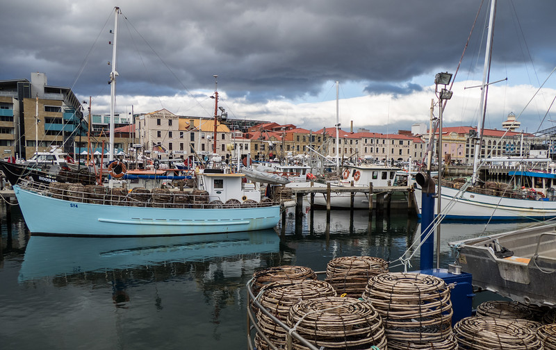 Hobart Fishing Harbor