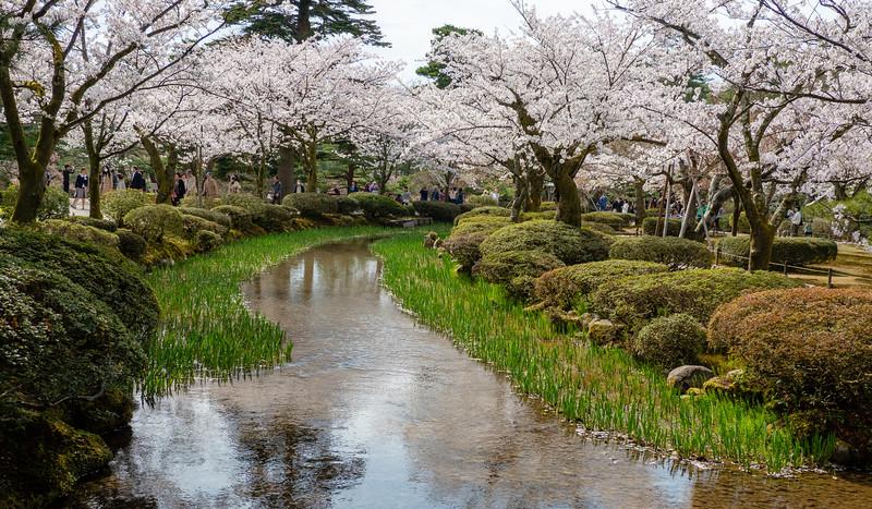 Kanazawa, Kenroku-en Gardens