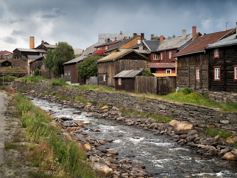 Copper Mining Town, Roros, Norway, a UNESCO Heritage Site
