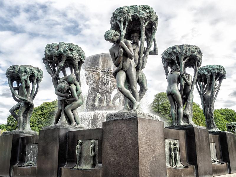 Vigelandsparken, Sculpture Park, Oslo