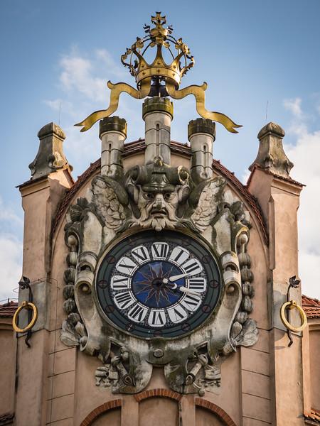 Krakow Art Nouveau Commercial Building