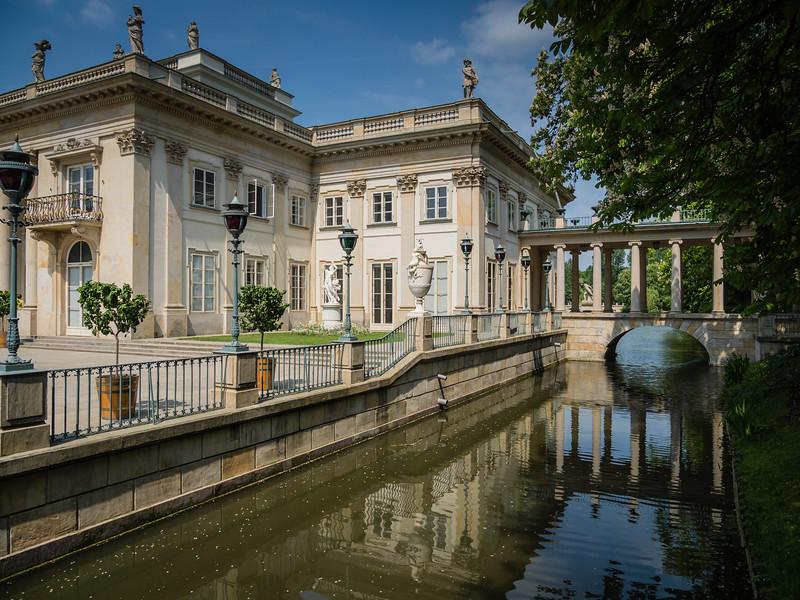 Lazienki Palace (1772), Warsaw