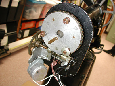 criterion clock drive assembly without rear cover.