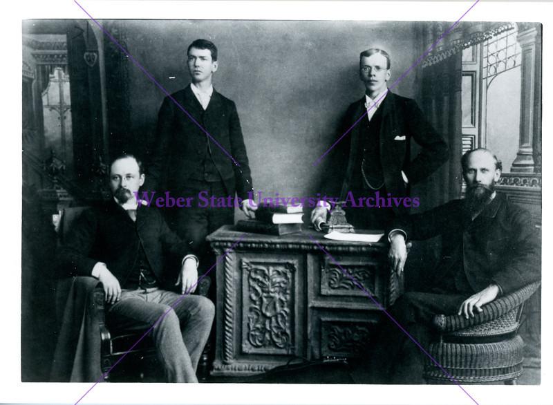 WSA Faculty, 1889-1890