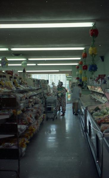 Inside Hagnauer's Market st St. Jacob, IL.