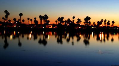 ВЕЧЕРНЯЯ ИДИЛЛИЯ.  San Diego. 2005г