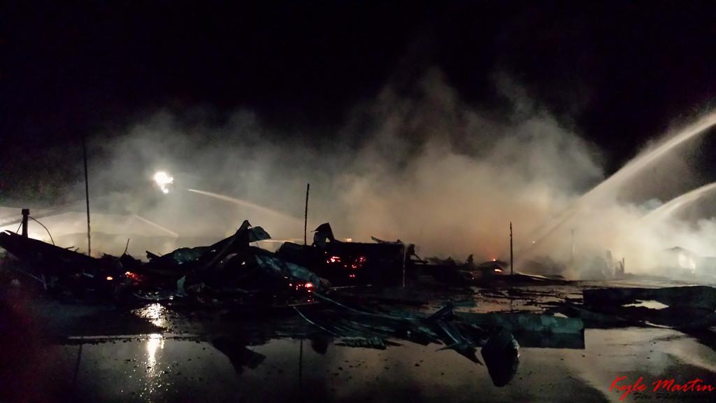 14 053114 Lumber Yard Fire