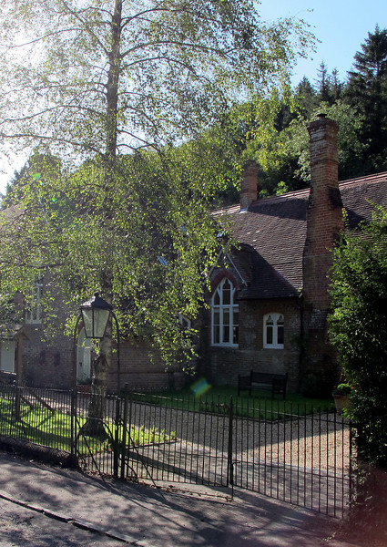 Milton Abbas old village school house