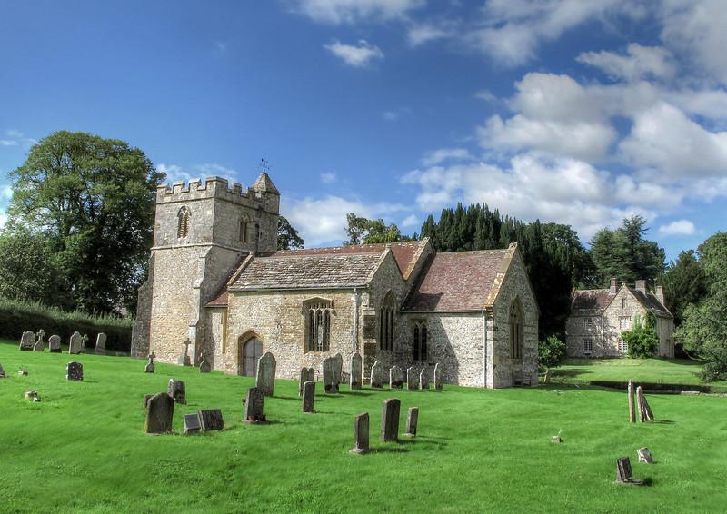 The church at Binghams Melcombe.