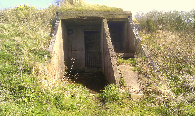 The Second World War 'Chain Home' Radar station at RAF Ringstead.