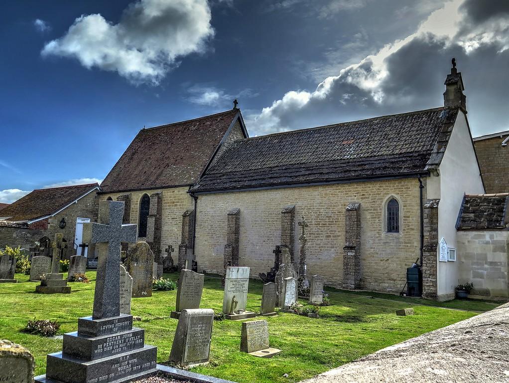 The Catholic church at Marnhull