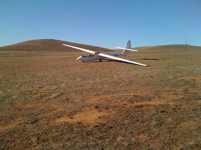15 Aug 09 - Gliding with Canberra Gliding Club, Cooma NSW