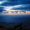 Sunset at Achadas da Cruz on the island of Madeira - a color image
