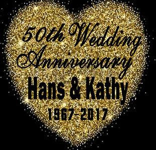 16-06-2017 ~ Hans and Kathy'S 50th Wedding Anniversary