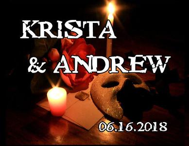 16-06-2018 ~ Krista and Andrew Wedding