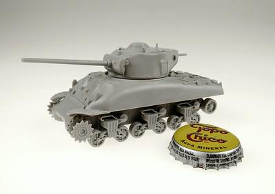 1/72 Trumpeter M4A1(76)W Sherman