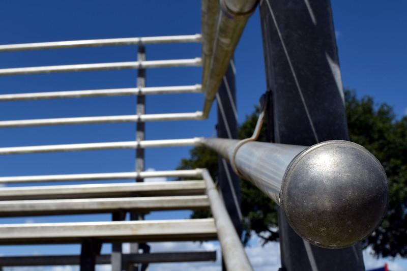 008a Bleacher Handrail 4-19-17