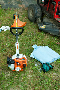 Stihl FS45 gas string trimmer.