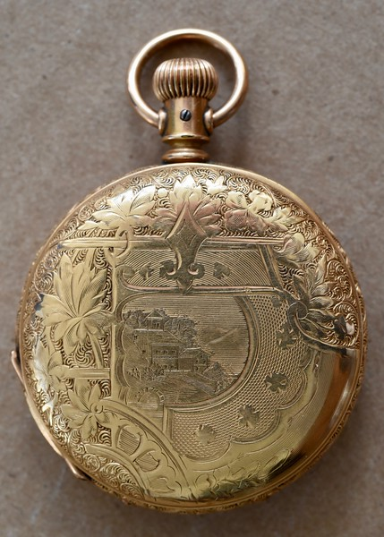 1889 Elgin Pocket Watch