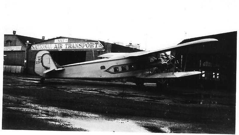 November 8, 1937 - Boeing Model 80A-1 Transport - Chicago, IL