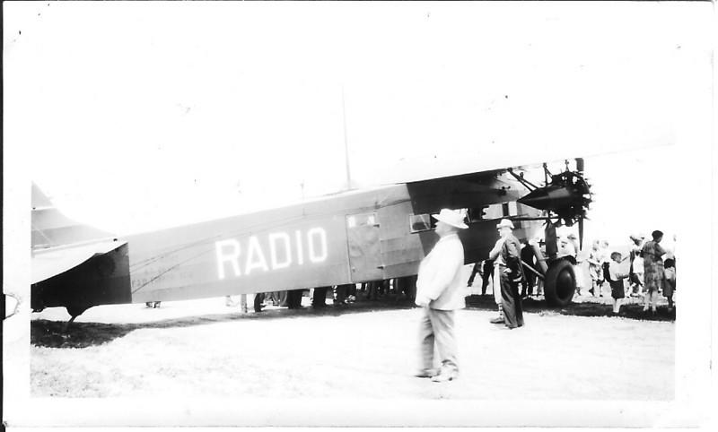 November 8, 1937 - Fokker F.VII Trimotor - Chicago, IL