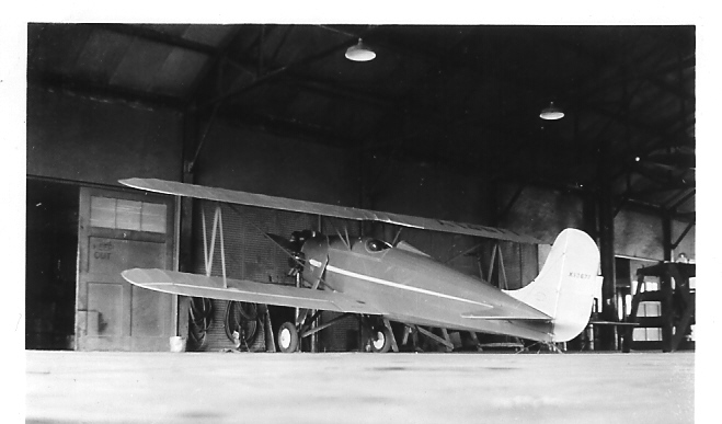 September 27, 1937 - Waco F - Air Activites Airport - Chicago, IL