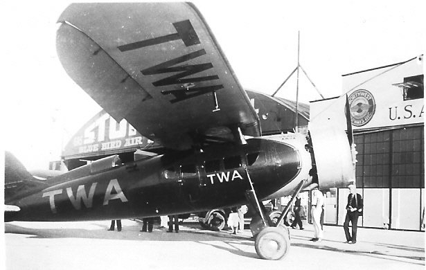 TWA Consolidated Model 20-A Fleetster