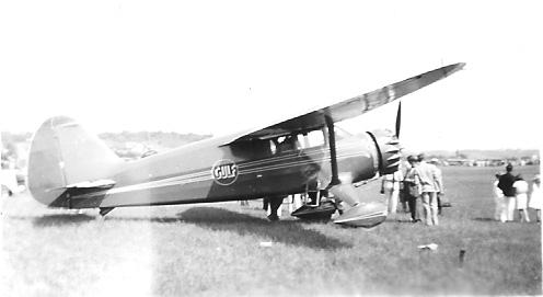 """Gulf Oil Company Stinson """"Reliant"""" Model SR-10F"""